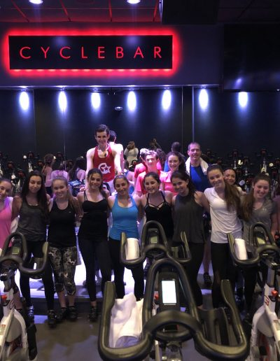 Members of TTO participated in a fundraiser at Cyclebar of livingston. Proceeds from the fundraiser were donated to Riley's Dance