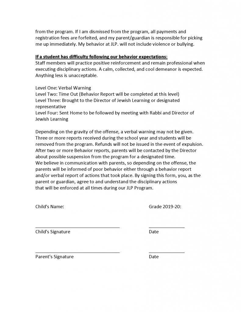Behavior Agreement for the Jewish Learning Program_Page_2