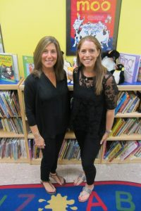 Debbie Aronson Ziering, Director of Early Childhood Education and Jayme Rein, Early School Administrative Assistant