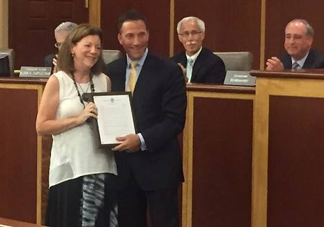 Nancy Dinar Day in Livingston