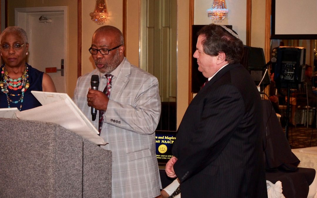 Temple B'nai Abraham Honored by NAACP