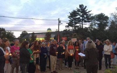 A Vigil Against Gun Violence and Homophobia