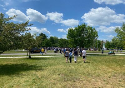 rally on the green